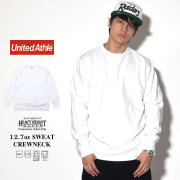 UNITED ATHLE ユナイテッドアスレ トレーナー AUTHENTIC SUPER HEAVY WEIGHT 12.7oz SWEAT CREWNECK ホワイト 5740-01-001 7V9331