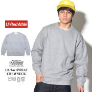 UNITED ATHLE ユナイテッドアスレ トレーナー AUTHENTIC SUPER HEAVY WEIGHT 12.7oz SWEAT CREWNECK グレー 5740-01-006 7V9333