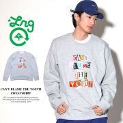 LRG エルアールジー トレーナー メンズ CAN'T BLAME THE YOUTH SWEATSHIRT (J183003)