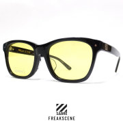 SABRE セイバー サングラス FREAKSCENE GLOSS BLACK/LIGHT YELLOW (SV204-138J)