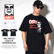 OBEY オベイ 半袖Tシャツ OBEY MISFITS LEGACY OF PHENOMENOLOGY (163081760)