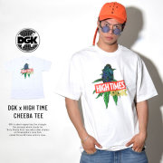 DGK ディージーケー 半袖Tシャツ DGK × HIGH TIMES CHEEBA TEE WHITE (PTM-1063)