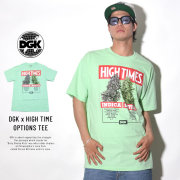 DGK ディージーケー 半袖Tシャツ DGK × HIGH TIMES OPTIONS TEE MINT (PTM-1067)