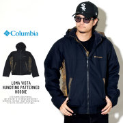 COLUMBIA コロンビア ウィンドブレーカー LOMA VISTA HUNDTING PATTERNED HOODIE PM3408