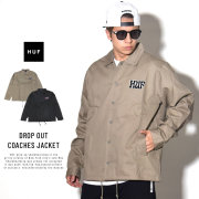 HUF ハフ コーチジャケット DROP OUT COACHES JACKET JK00110