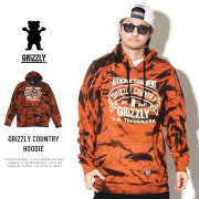 Grizzly Griptape グリズリーグリップテープ プルオーバーパーカー GRIZZLY COUNTRY HOODIE GMD1808P07