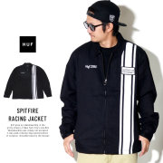 HUF ハフ ジャケット SPITFIRE RACING JACKET JK00138
