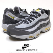 NIKE ナイキ スニーカー AIR MAX 95 SE REFLECTIVE OFF-NOIR/AMARILLO/WOLF-GREY BQ6523-001