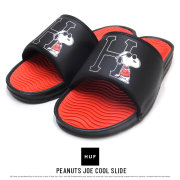 HUF ハフ サンダル  PEANUTS JOE COOL SLIDE CP00023