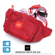 HUF ハフ ウェストバッグ BUDWEISER COOLER SIDE BAG AC00238