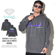 DIAMOND SUPPLY CO ダイヤモンドサプライ プルオーバーパーカー THE REAL THING PIGMENT DYED HOODIE A19DMPF055S