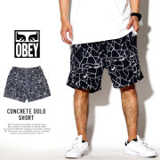 OBEY オベイ ナイロンハーフパンツ CONCRETE DOLO SHORT 172120040