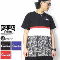 CROOKS&CASTLES Tシャツ JUNGLE FEAVER I1320117