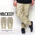 10DEEP テンディープ ジョガーパンツ SILVER BANDED BOTTM PANT 51TD1006 5V1301