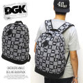 DGK ディージーケー バックパック CHECKERS ANGLE DELUXE BACKPACK DBP-85 5V5264