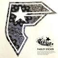 FAMOUS STARS&STRAPS ステッカー FP02160001 PAISLEY STICKER 6V3091