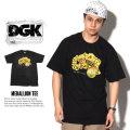 DGK ディージーケー 半袖Tシャツ MEDALLION TEE DT-3532 7V1401