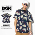DGK ディージーケー 半袖シャツ COME UP S/S WOVEN DSS-261 7V3297