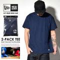 NEW ERA ニューエラ 半袖Tシャツ 2枚パック 2-PACK TEE ネイビー 11403817 7V9032