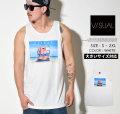 VISUAL (ビジュアル) タンクトップ メンズ LIFE GUARD VSTT015