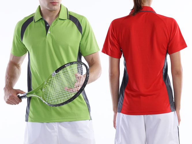 【Wundou】 ベーシックテニスシャツ #P1710