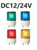 パトライト 超小型LEDフラッシュ表示灯 PSE-M1 DC12/24V Ф82 (色お選びいただけます。)