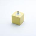 角型ミニ花瓶 黄