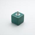 角型ミニ花瓶 グリーン