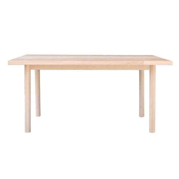 【送料無料】 レストランなどの飲食店に最適 無垢材を使用したダイニングテーブル 幅145