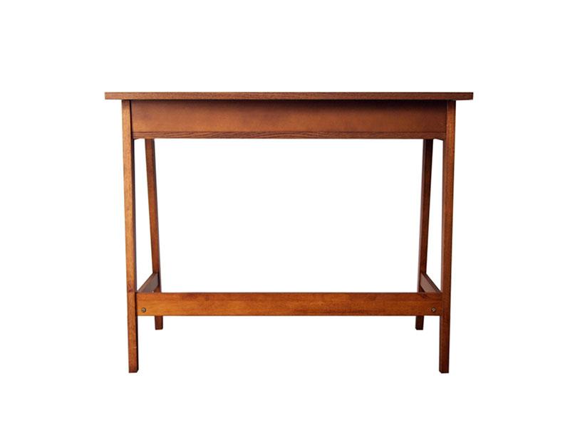 【送料無料】 おしゃれなワーキングスペースに最適 オーク材の木製デスク