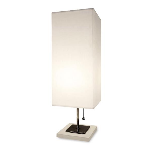 【送料無料】モダンでシンプルなテーブルスタンドライト照明 ホワイトとブラック