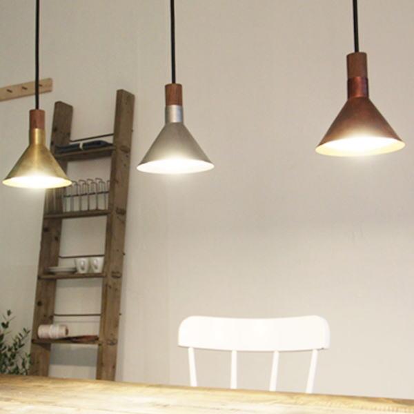 【送料無料】  カフェの照明 金属シェードのペンダントライト