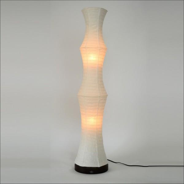 【送料無料】 和風デザイン フロアライト 角のないやわらかな雰囲気の間接照明