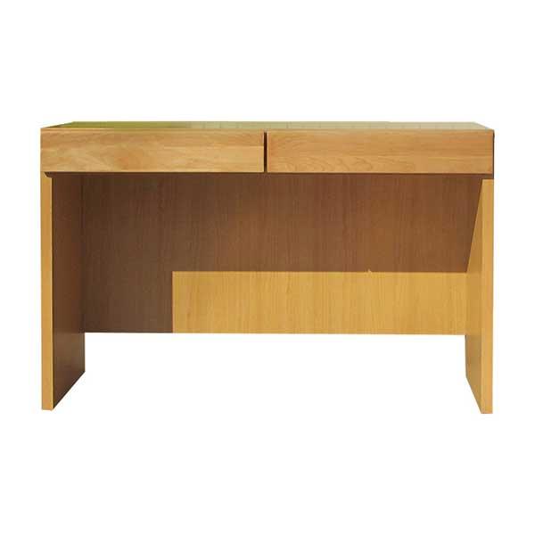 【送料無料】 無垢のオフィス家具 ナチュラルカラーの木製デスク 幅120