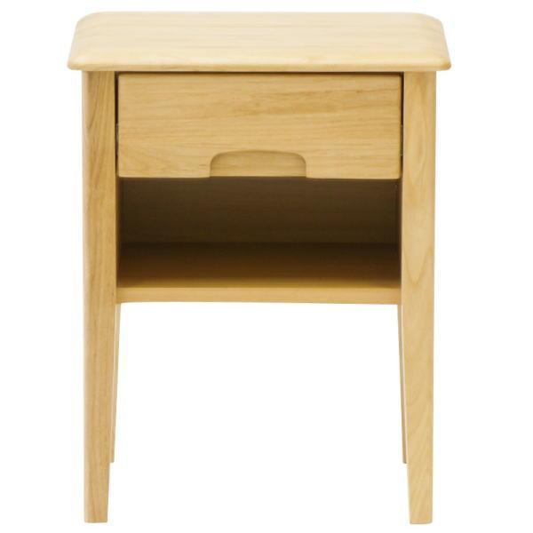 【送料無料】 ベッドサイドに最適 寝室で活躍する無垢のサイドテーブル