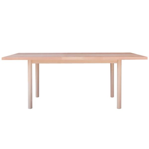【送料無料】 レストランなどの飲食店に最適 無垢材を使用したダイニングテーブル 幅180