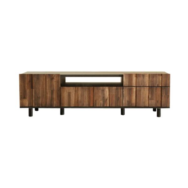 【送料無料】カフェ風テレビ台 味のある木材を使用 幅150