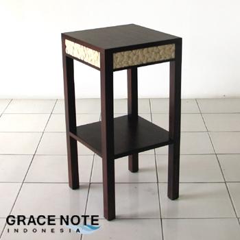 【送料無料】 アジアン家具 シンプルなデザインの サイドテーブル