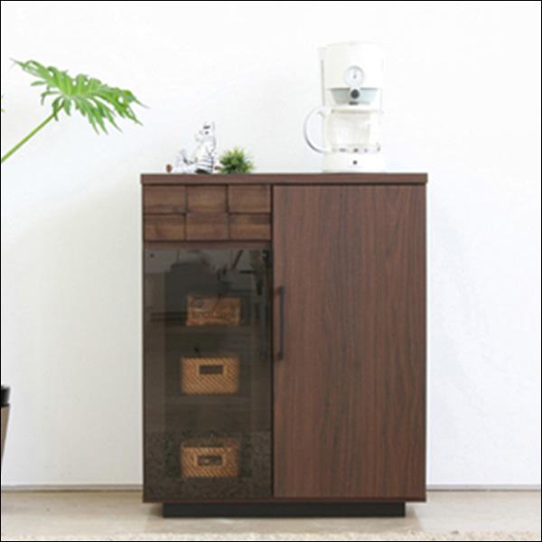 【送料無料】日本製なので安心 モダンなデザインのキッチンカウンター 収納家具
