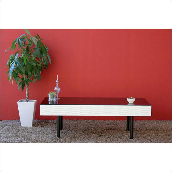 【送料無料】(6月23日)入荷分 安心の日本製 完成品 モダンなデザインのセンターテーブル