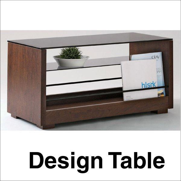 【送料無料】 北欧インテリアに最適なデザイン センターテーブル ブラウン