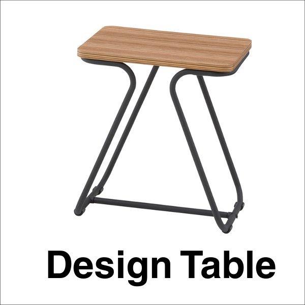 【送料無料】 ヴィンテージデザインのサイドテーブル スチールフレーム