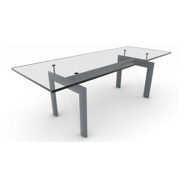 ル・コルビジェ ダイニングテーブル LC6(デザイナーズ家具)