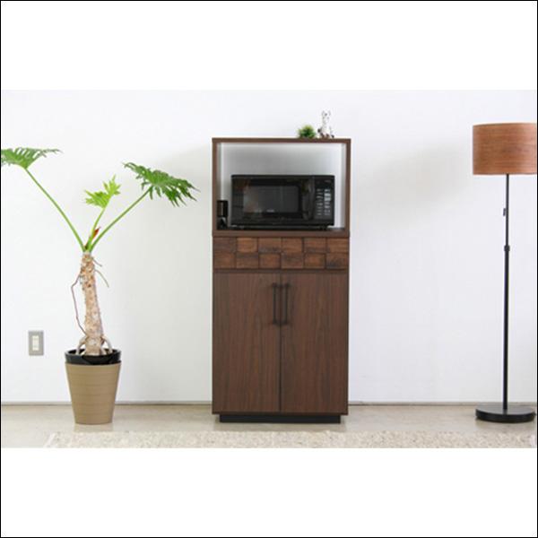 【送料無料】日本製なので安心 モダンなデザインのキッチン収納 レンジ台 60