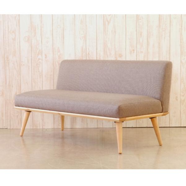 【送料無料】 10畳リビングでもOK 北欧風デザイン おしゃれなダイニングソファ 2人掛け ブルーとブラウン