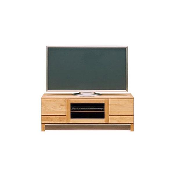 【送料無料】 高級家具 北欧デザインのローボード テレビ台 幅112 木脚