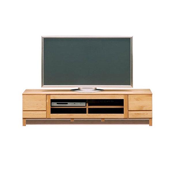 【送料無料】 高級家具 北欧デザインのローボード テレビ台 幅162 木脚