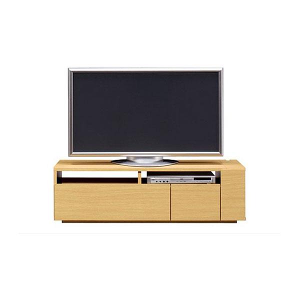 【送料無料】 高級家具 モダンなデザインのローボード テレビ台 幅120 ナチュラル 日本製