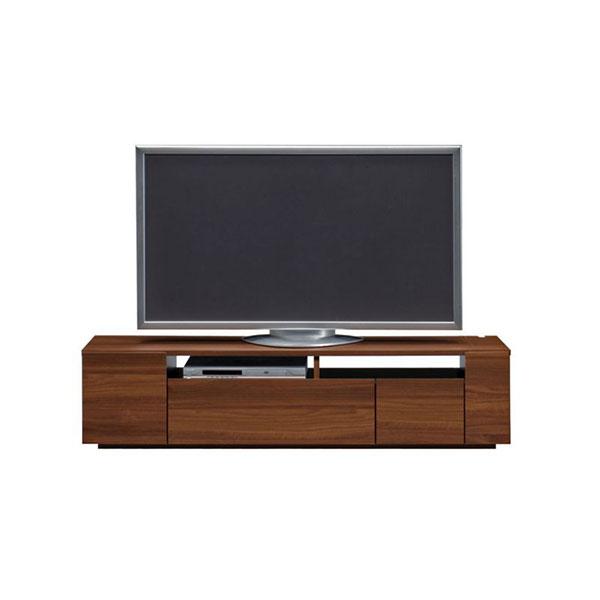【送料無料】 高級家具 モダンなデザインのローボード テレビ台 幅150 ウォールナット 日本製