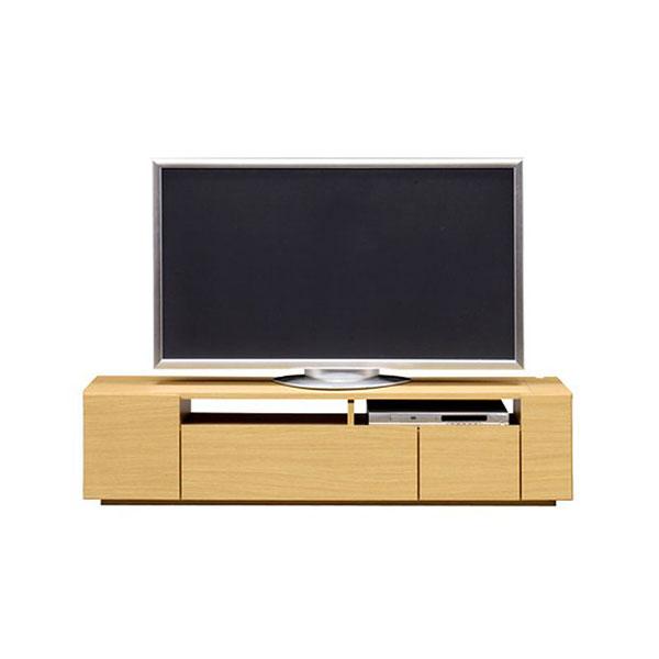 【送料無料】 高級家具 モダンなデザインのローボード テレビ台 幅150 ナチュラル 日本製